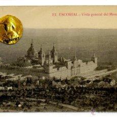 Postales: POSTAL EL ESCORIAL VISTA GENERAL DEL MONASTERIO . Lote 54594237
