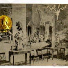 Postales: POSTAL EL ESCORIAL PALACIO HABITACION DE TAPICES DE TENIERS. Lote 54594339