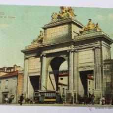 Postales: P-4355. MADRID. PUERTA DE TOLEDO. PRINCIPIOS SIGLO XX. DR. TRENKLER CO. LEIPZIG.. Lote 54728770