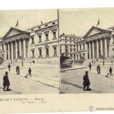 Postales: PS5890 MADRID 'LAS CORTES'. ESTEROSCÓPICA. LL. SIN CIRCULAR. PRINC. S. XX. Lote 51557175