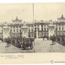 Postales: PS5892 MADRID 'EL CASTILLO REAL'. ESTEROSCÓPICA. LL. SIN CIRCULAR. PRINC. S. XX. Lote 51557352
