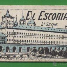 Postales: TARJETA POSTAL - 20 TARJETAS (LIBRITO) - EL ESCORIAL - 2ª SERIE - GRAFOS-MADRID.. Lote 54863969