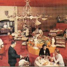 Cartes Postales: MADRID-APARTOTEL MELIÁ CASTILLA-GRILL EL HIDALGO- 1970-RARA. Lote 54878864