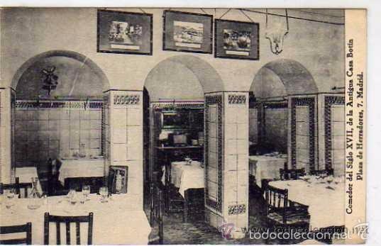 Madrid restaurante antigua casa botin comedor comprar for Casa botin madrid