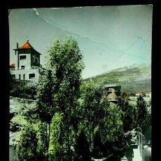 Postales: MIRAFLORES DE LA SIERRA (MADRID) Nº 9 ENTRADA A LA GRUTA -ED. VISTABELLA-POSTAL CIRCULADA. Lote 55303131