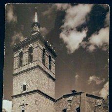 Postales: VILLA DEL PRADO (MADRID) Nº 11 TORRE IGLESIA PARROQUIAL -ED. VISTABELLA -POSTAL SIN CIRCULAR. Lote 55303549