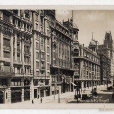Postales: MADRID. AVENIDA DE PI Y MARGALL. FRANQUEADA. ESCRITA EL 26 DE OCTUBRE DE 1933.. Lote 55566656