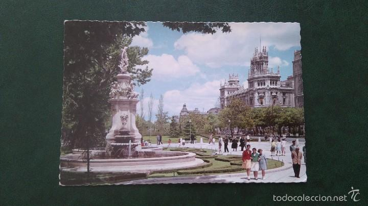 POSTAL MADRID.SALON DEL PRADO.CIRCULADA (Postales - España - Madrid Moderna (desde 1940))