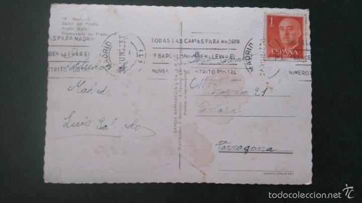 Postales: POSTAL MADRID.SALON DEL PRADO.CIRCULADA - Foto 2 - 55798770