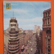 Postales: POSTAL - MADRID - AVENIDA JOSE ANTONIO - DOMINGUEZ 1962 - CIRCULADA. Lote 55800775