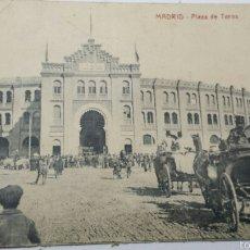 Postales: ANTIGUA POSTAL DE MADRID PLAZA DE TOROS. Lote 103194898