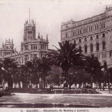 Postales: ESPAÑA. T. P. Nº 9. MADRID. MINISTERIO DE MARINA Y CORREOS. NUEVA SIN CIRCULAR.. Lote 55944199