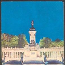 Postales: 359 - MADRID.- ESTANQUE DEL RETIRO Y MONUMENTO A ALFONSO XII. Lote 56124555