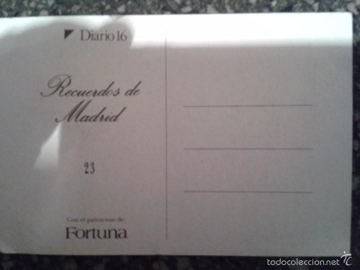 Postales: PRADERA DE SAN ISIDRO serie RECUERDOS DE MADRID Diario 16 - Foto 2 - 56193979