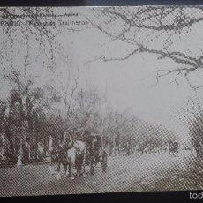 Postales: PASEO DE TRAJINEROS SERIE RECUERDOS DE MADRID DIARIO 16. Lote 56200030