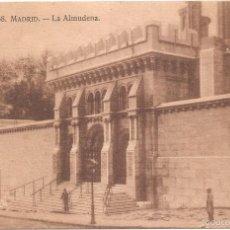 Postales: MADRID LA ALMUDENA. Lote 56321347