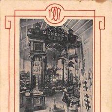 Postales: EXPOSICIÓN DE INDUSTRIAS MADRILEÑAS-MENESES. Lote 56589570