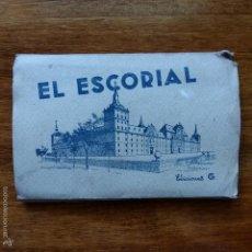 Postales: LOTE DE 15 POSTALES, VISTAS DE EL ESCORIAL MADRID, EDICIONES GARCIA GARRABELLA. Lote 56597250