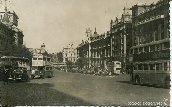 Madrid calle alcala autobuses 2 pisos a os 50 comprar for Pisos en calle alcala madrid