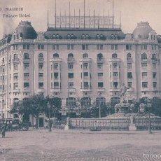 Postales: POSTAL 10. MADRID. PALACE HOTEL.(HAUSER Y MENET). Lote 56917035