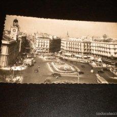 Postales: MADRID - PUERTA DEL SOL, COCHES AUTOBUS / Nº 29 / F MOLINA. Lote 56932028