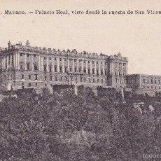 Postales: MADRID PALACIO REAL (ESCRITA) . Lote 56991330