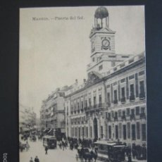 Postales: POSTAL MADRID. PUERTA DEL SOL. AÑO 1914. . Lote 57101344