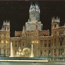 Postales: POSTAL 429 MADRID CIBELES PALACIO COMUNICACIONES ESPAÑA SPAIN ESPAGNE SPANIEN. Lote 57126256