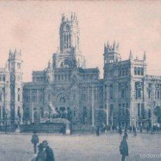 Postales: POSTAL 7 MADRID CASA DE CORREOS. GRAFOS MADRID. Lote 57221817