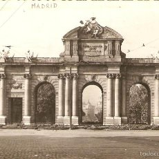 Postales: POSTAL MADRID PUERTA ALCALÁ DOMINGUEZ ARC PORTE GATE ESPAÑA SPAIN ESPAGNE SPANIEN TARJETA. Lote 57227097