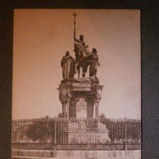 Cartoline: POSTAL - ESPAÑA - MADRID - 22 MONUMENTO A ISABEL LA CATÓLICA - HAUSER Y MENET - SIN ESCRIBIR . Lote 57353776