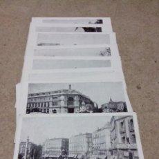 Postales: TARJETA POSTAL LOTE DEL Nº 1 AL 19 FALTA EL Nº 13 MADRID UNION POSTAL UNIVERSAL. Lote 57387367