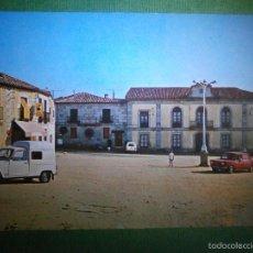 Postais: POSTAL - MADRID - VALDEMORILLO - 5 PLAZA DEL GENERALÍSIMO Y AYUNTAMIENTO - EDICIONES VISTABELLA. Lote 57499799