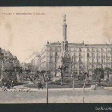 Postales: MADRID.PLAZA Y MONUMENTO A COLÓN.ED.BAZAR X.Nº 6.SIN CIRCULAR.. Lote 57539870