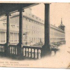 Cartes Postales: EL ESCORIAL. HAUSER Y MENET. DORSO SIN DIVIDIR. Lote 57681278