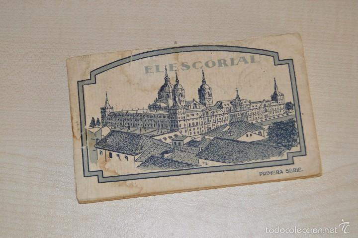 LIBRITO, CON 19 TARJETAS POSTALES - EL ESCORIAL - 1ª SERIE (Postales - España - Madrid Moderna (desde 1940))