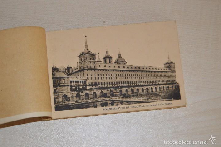 Postales: Librito, con 19 Tarjetas POSTALES - EL ESCORIAL - 1ª Serie - Foto 2 - 57795792