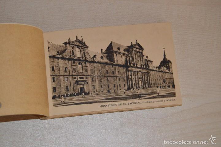 Postales: Librito, con 19 Tarjetas POSTALES - EL ESCORIAL - 1ª Serie - Foto 3 - 57795792