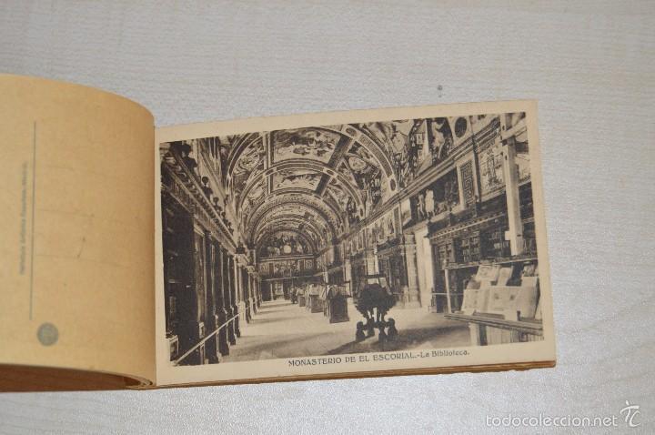 Postales: Librito, con 19 Tarjetas POSTALES - EL ESCORIAL - 1ª Serie - Foto 4 - 57795792