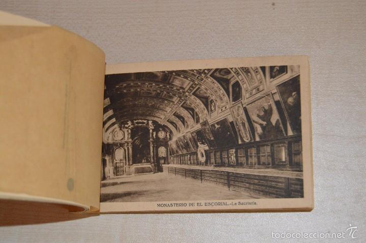 Postales: Librito, con 19 Tarjetas POSTALES - EL ESCORIAL - 1ª Serie - Foto 5 - 57795792