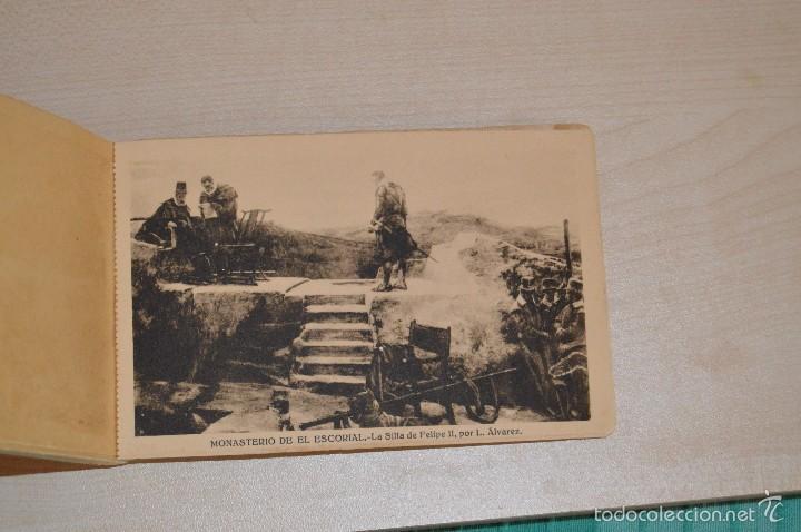 Postales: Librito, con 19 Tarjetas POSTALES - EL ESCORIAL - 1ª Serie - Foto 6 - 57795792