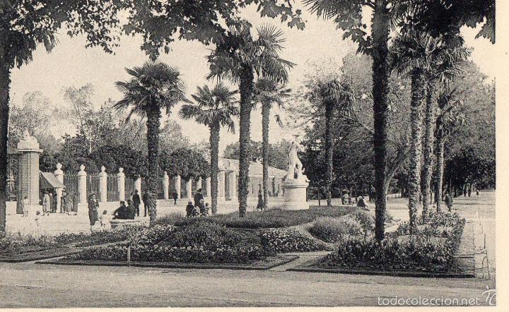 MADRID. PARQUE DEL RETIRO. NO CIRCULADA HAUSER MENET (Postales - España - Madrid Moderna (desde 1940))