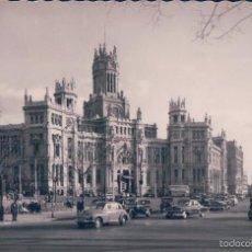 Postales: POSTAL FOTOGRAFICA 24MADRID.- PALACIO DE COMUNICACIONES. G. GARRABELLA Y CIA. CIRCULADA. VER REVERSO. Lote 57868164