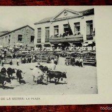Postales: POSTAL DE MIRAFLORES DE LA SIERRA (MADRID).- LA PLAZA, R. FONT. E., NO CIRCULADA.. Lote 57892443