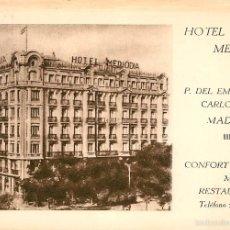Postales: MADRID - 23 - HOTEL MEDIODIA. Lote 57972045
