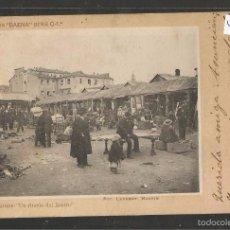 Postales: MADRID - UN RINCON DEL RASTRO - FOT. LAURENT-COLECCION BAENA - VER REVERSO SIN DIVIDIR - (44.453). Lote 58138833