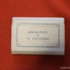 Postales: 15 FOTOGRAFIA ARTISTICAS, MINIATURA, MONASTERIO DEL ESCORIAL ROISIN, AÑOS 50. Lote 58237847