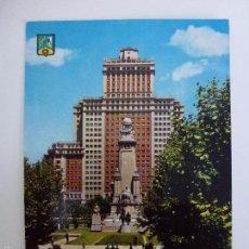 Cartes Postales: MADRID. MONUMENTO A CERVANTES. . Lote 58241649