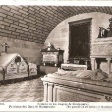 Postales: POSTAL EL ESCORIAL MADRID PANTEÓN DE LOS DUQUES DE MONTPENSIER MANIPEL SPAIN POSTCARD ESPAGNE CARTE. Lote 58242376
