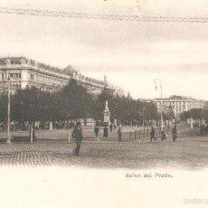 Postales: POSTAL DE MADRID SALON DEL PRADO 25/106. Lote 58294444